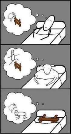 לחשוב כדי להרדם