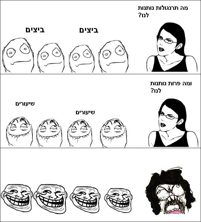 קומיקס כיתה מצחיק