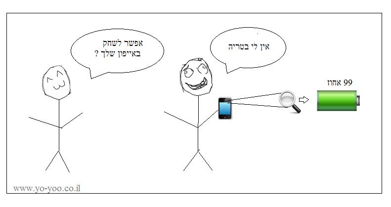 קומיקס אייפון