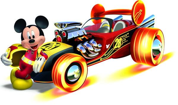 מיקי מאוס והמכונית