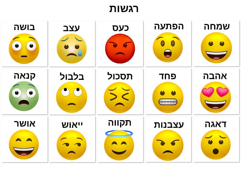 תמונה של רגשות