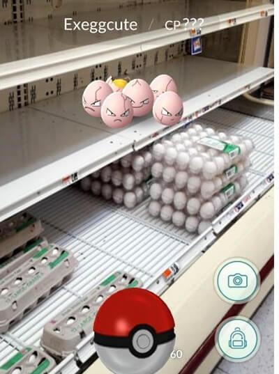 פוקימון גו תמונה מצחיקה