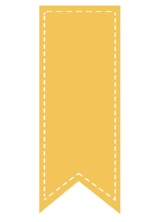 סימניה צהובה