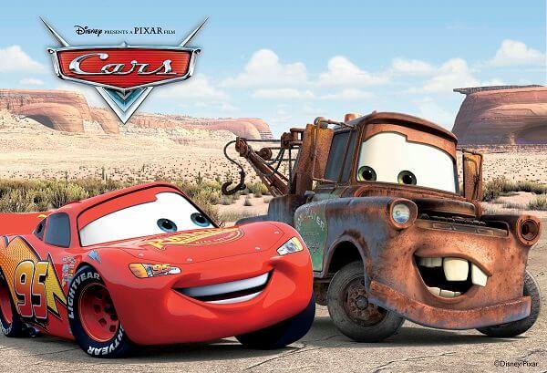 תמונה מהסרט מכוניות