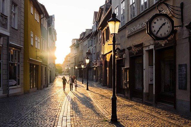 תמונה של רחוב יפה