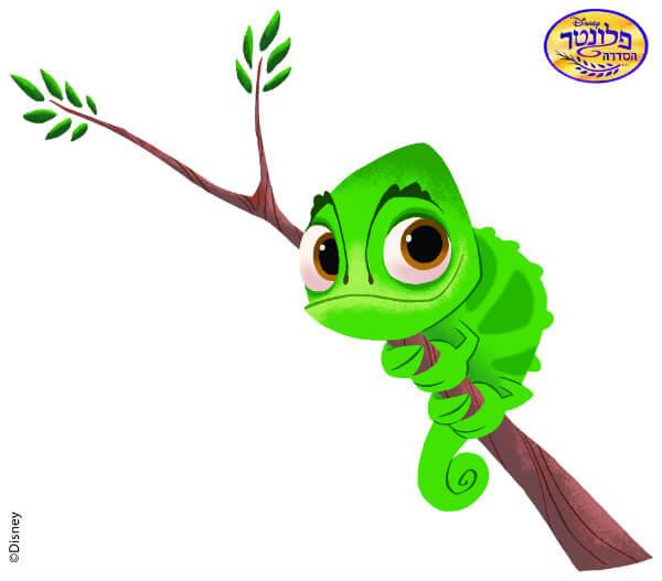 זיקית על ענף