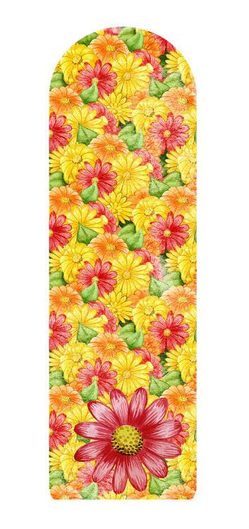 סימניה פרחים צהובים