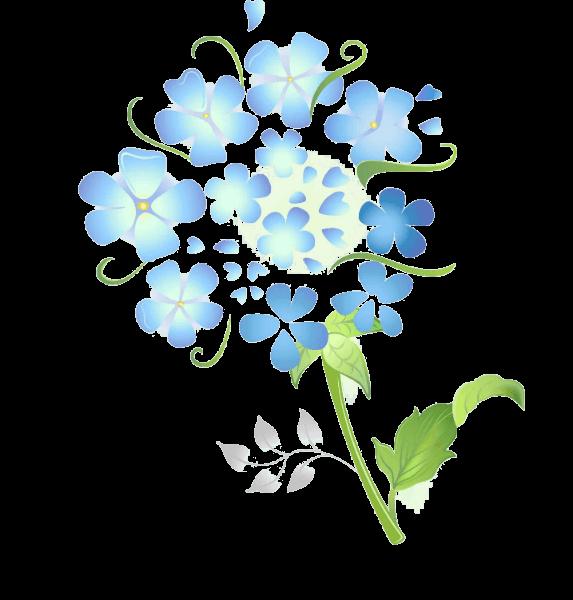 פרח כחול