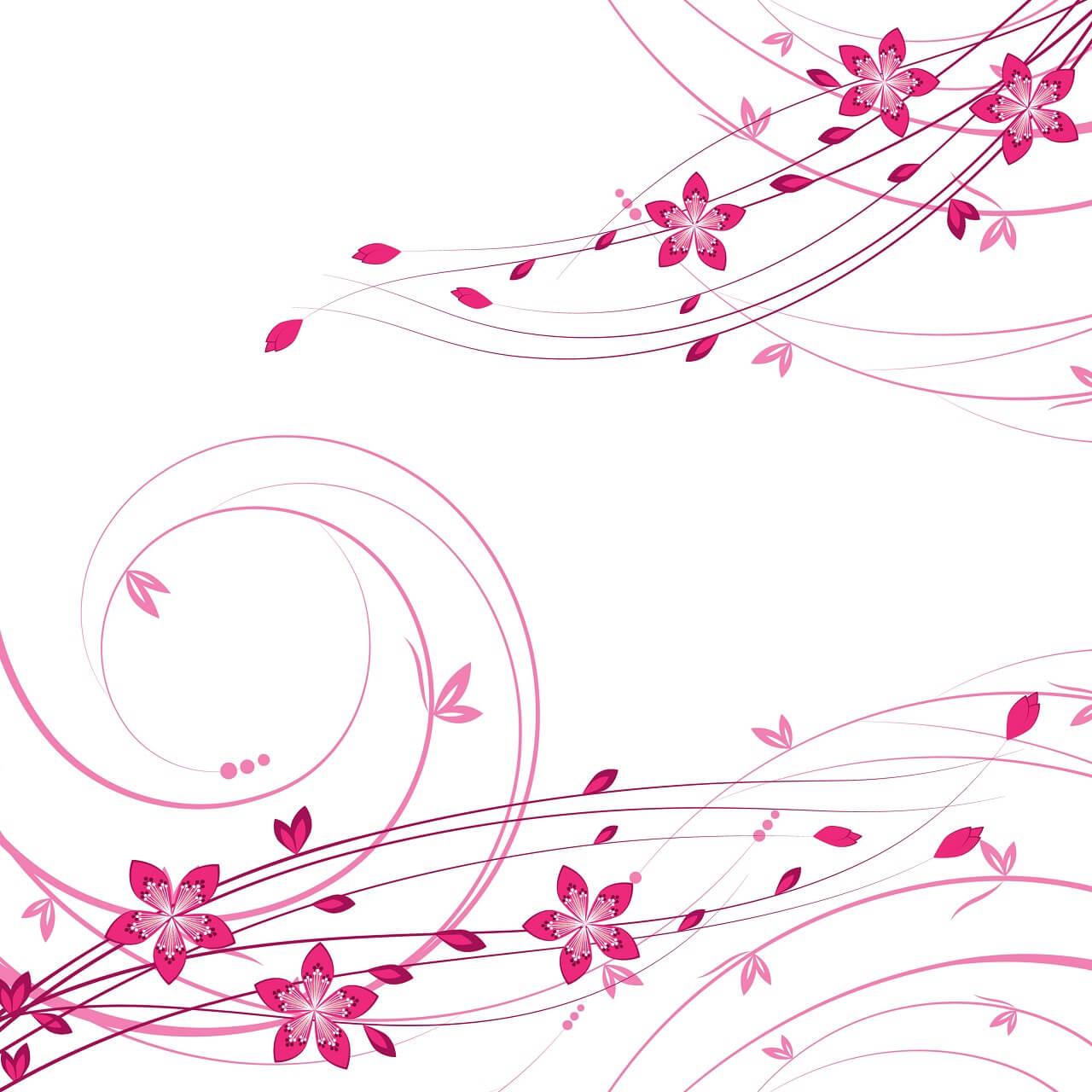 רקע עם פרחים