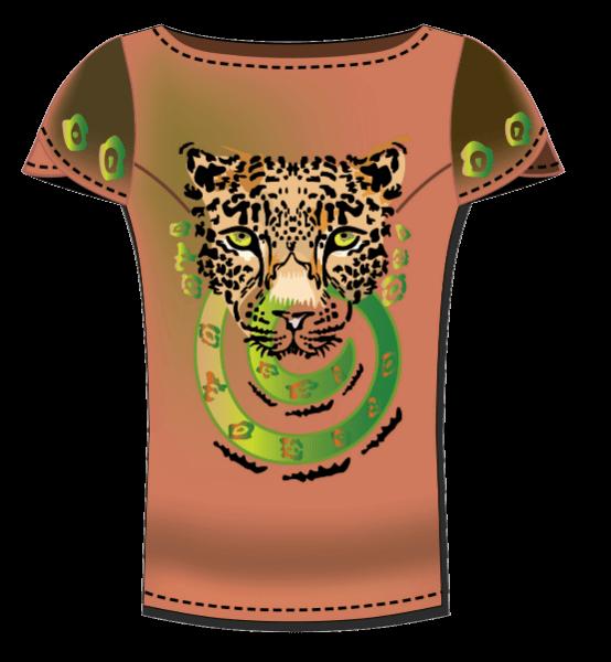 חולצה עם נמר