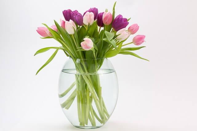 זר של פרחים