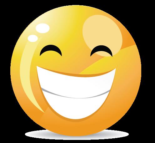 סמיילי חיוך רחב