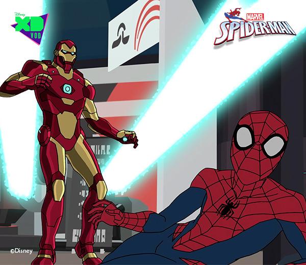 ספיידרמן ואיירון מן
