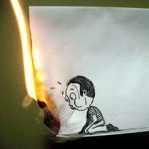 עולה באש
