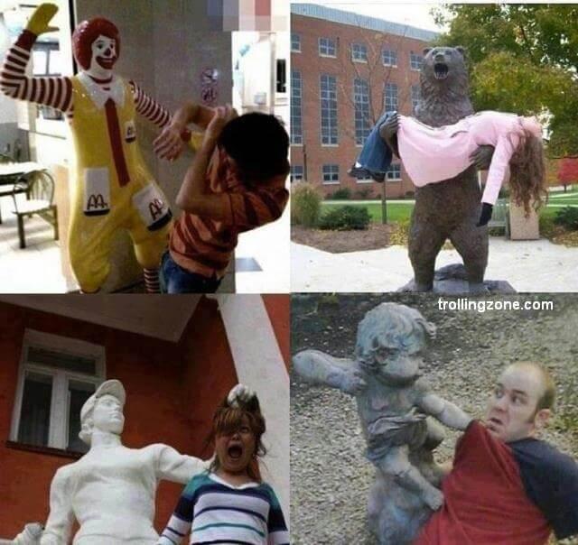 פסלים מכים