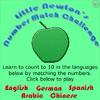 משחק הזיכרון באנגלית, אתם צריכים להפוך אחד אחרי השני ברצף 2 קלפי תפוח מתאימים. אחד מהם מספר בתור מילה באנגלית והשני מספר כמספר. תהפכו את כל הקלפים המתאימים, יש לכם ניקוד וזמן.