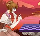 שחקניות השחמט הוא משחק הלבשה בו אתן צריכות להלביש את שחקניות השחמט ולבחור את הרקע.