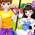 זוג באביב הוא משחק הלבשה בו אתן צריכות להלביש את הזוג לקראת האביב.