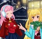 הלבשה לחורף הוא משחק הלבשה בו אתן צריכות להלביש את הבחורה בהתאם לעונת החורף.