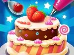 משחק הכנת עוגה מעולה  תעשו הכל לפי ההנחיות