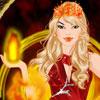 הלבישו את הנסיכה היפה עם האש איך שתרצו