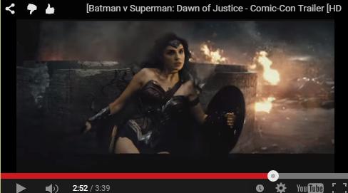גל גדות בטריילר של סופרמן נגד בטמן
