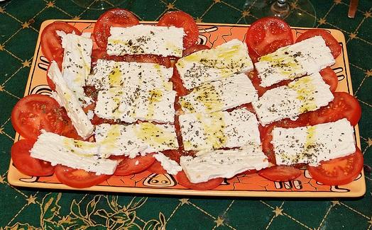 סנדוויץ גבינה בולגרית או צפתית