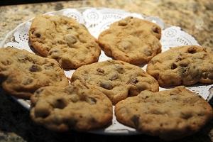 עוגיות שוקולד צ'יפס קלות