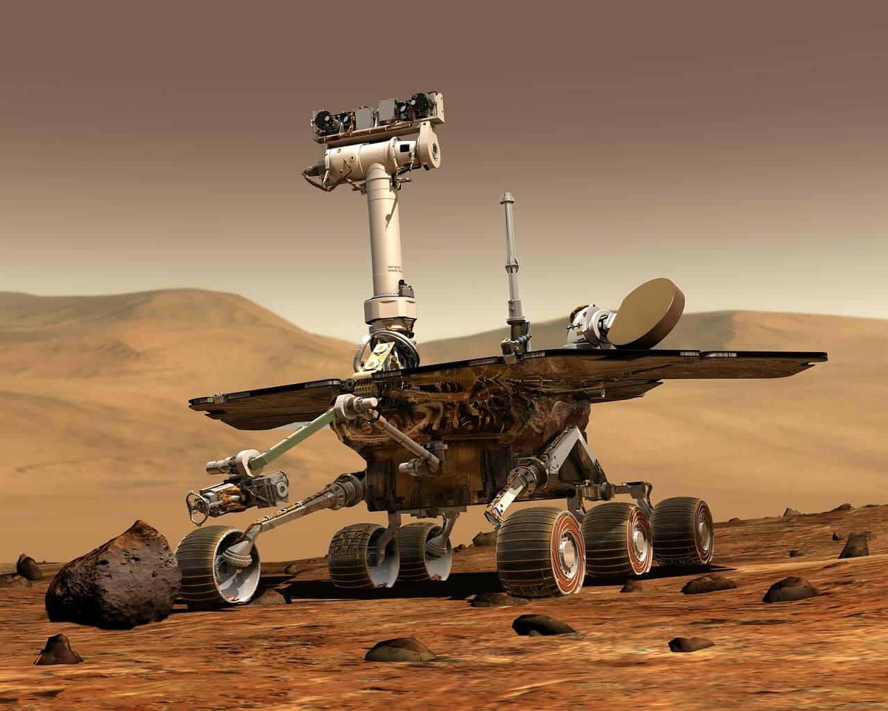 רובוט על מאדים