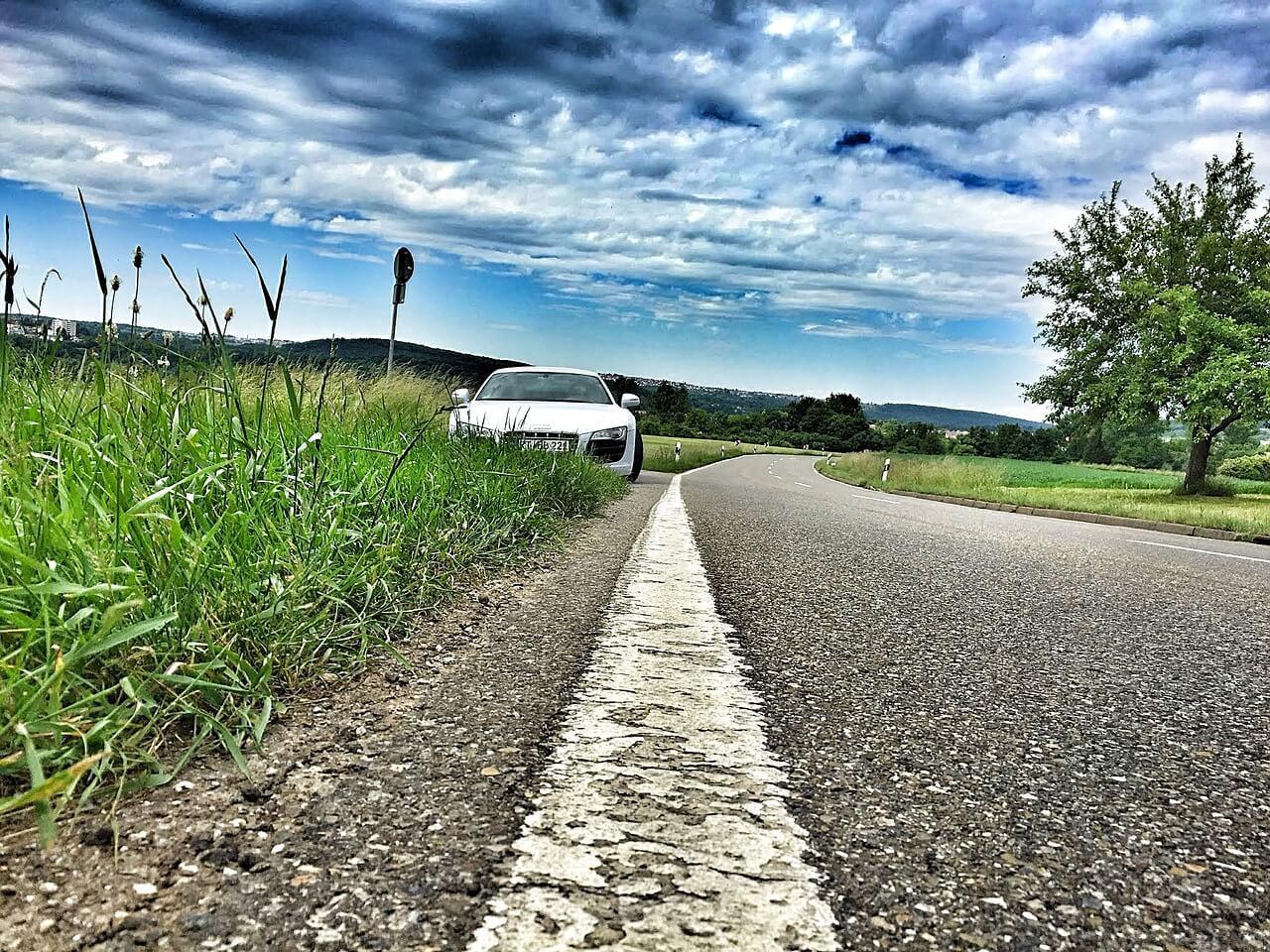 רקע של מכונית
