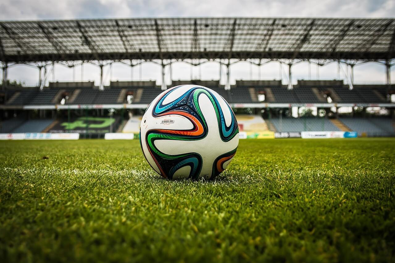 רקע של כדורגל