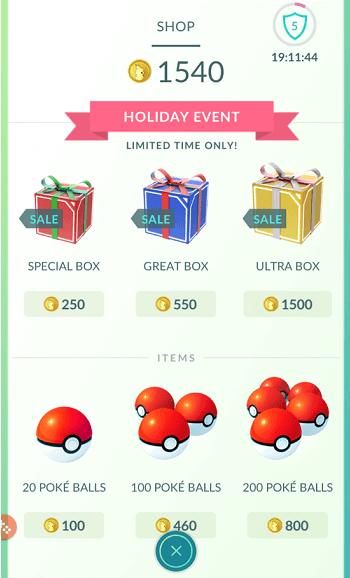 מתנות בחנות פוקימון