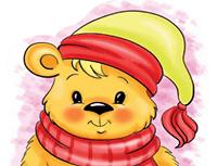 איך לצייר דובי