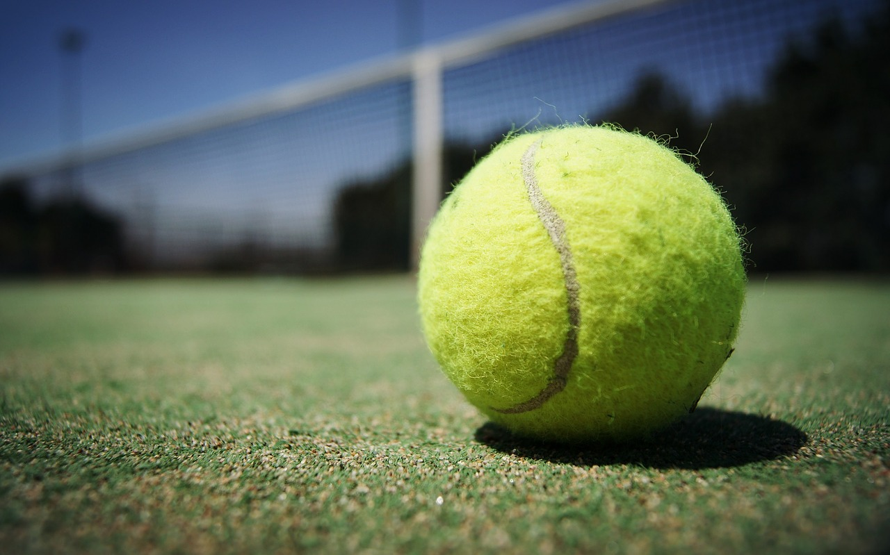 רקע של טניס