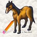 משחק איך לצייר סוס