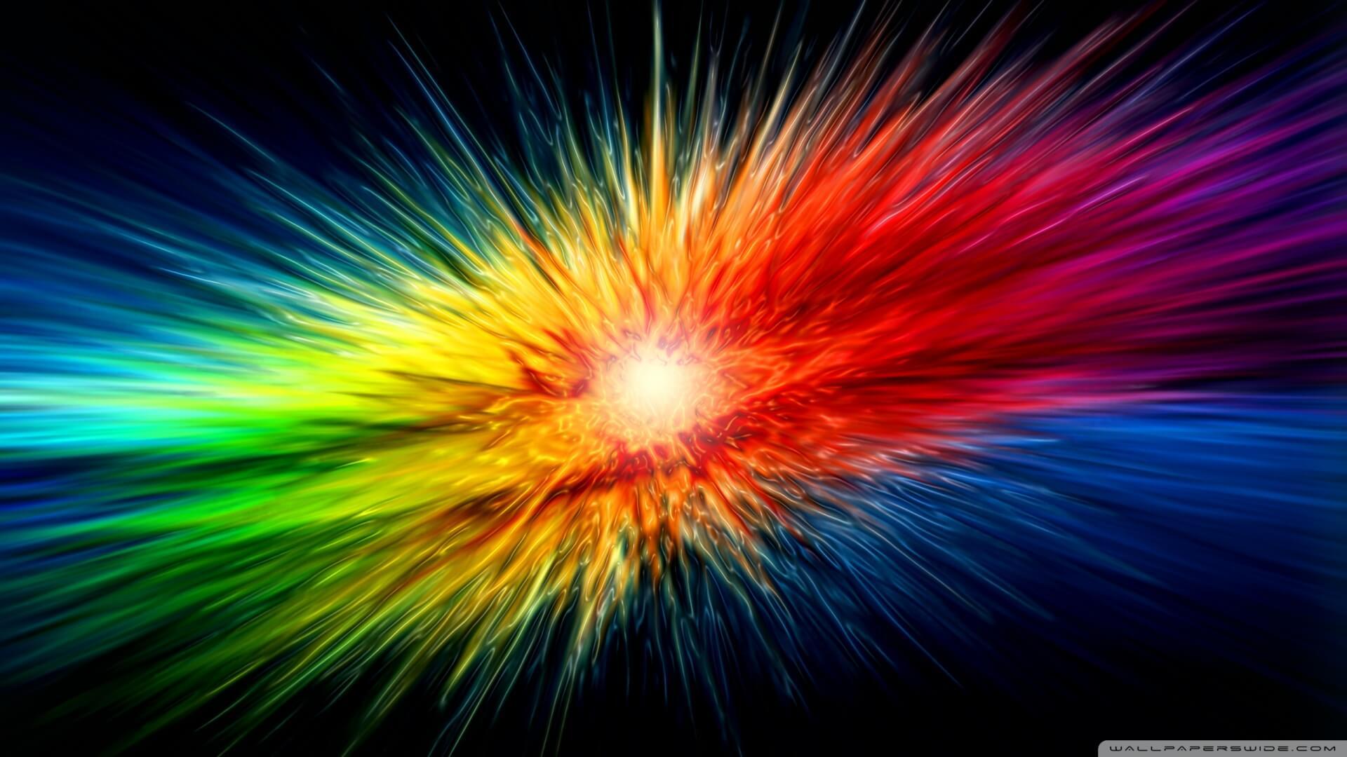 רקע צבעוני