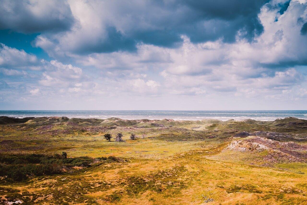 רקע של נוף
