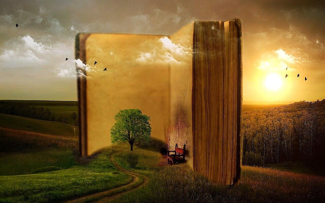 רקע של ספר