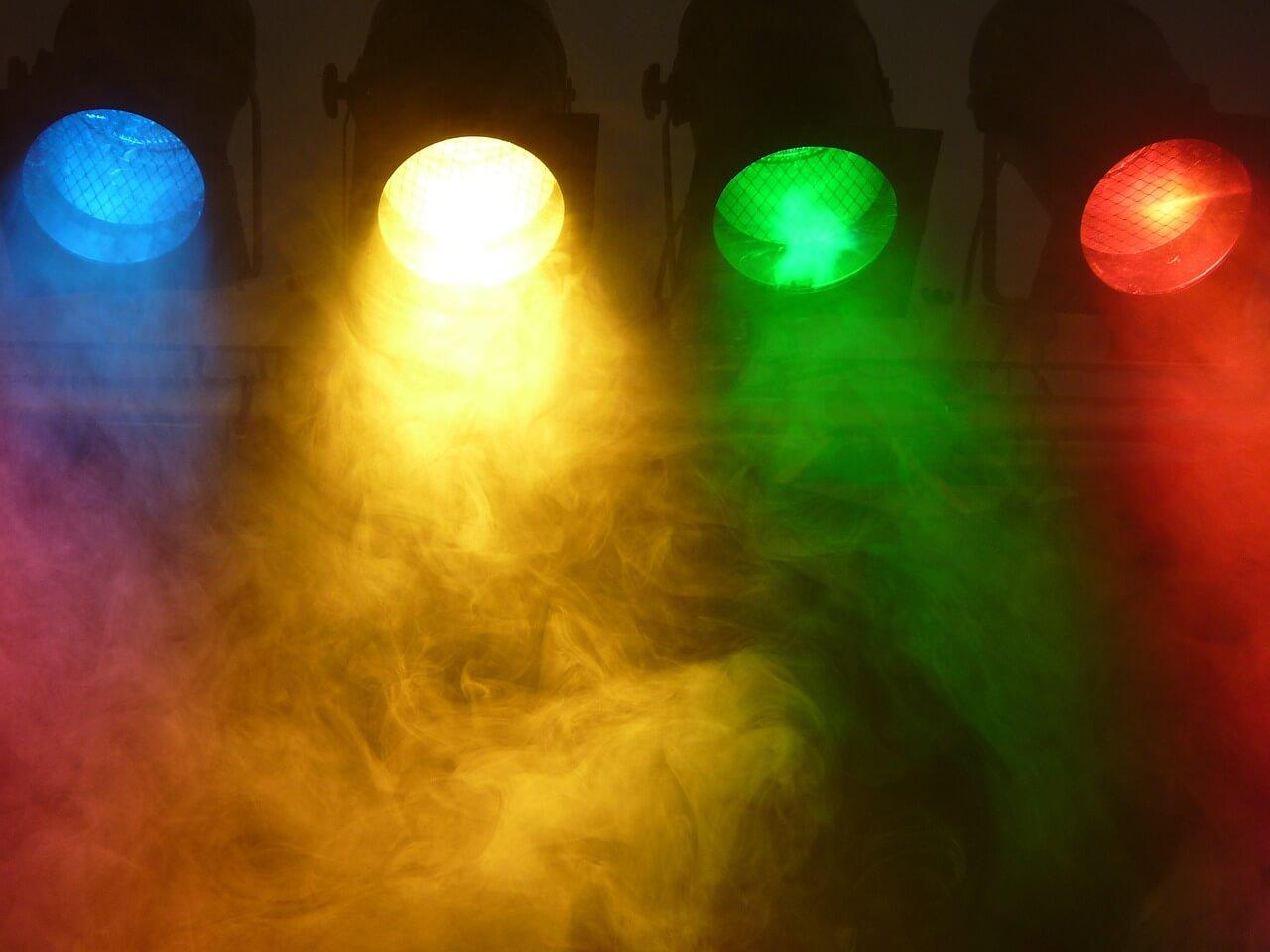 רקע של אורות