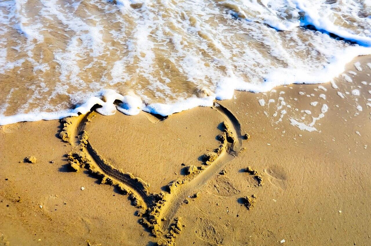 לב בים