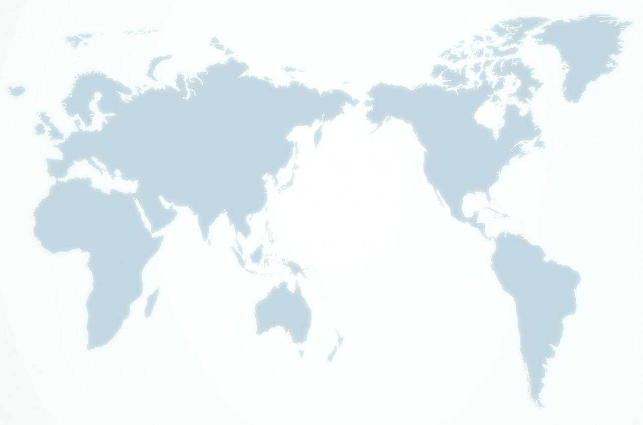 רקע של מפת העולם
