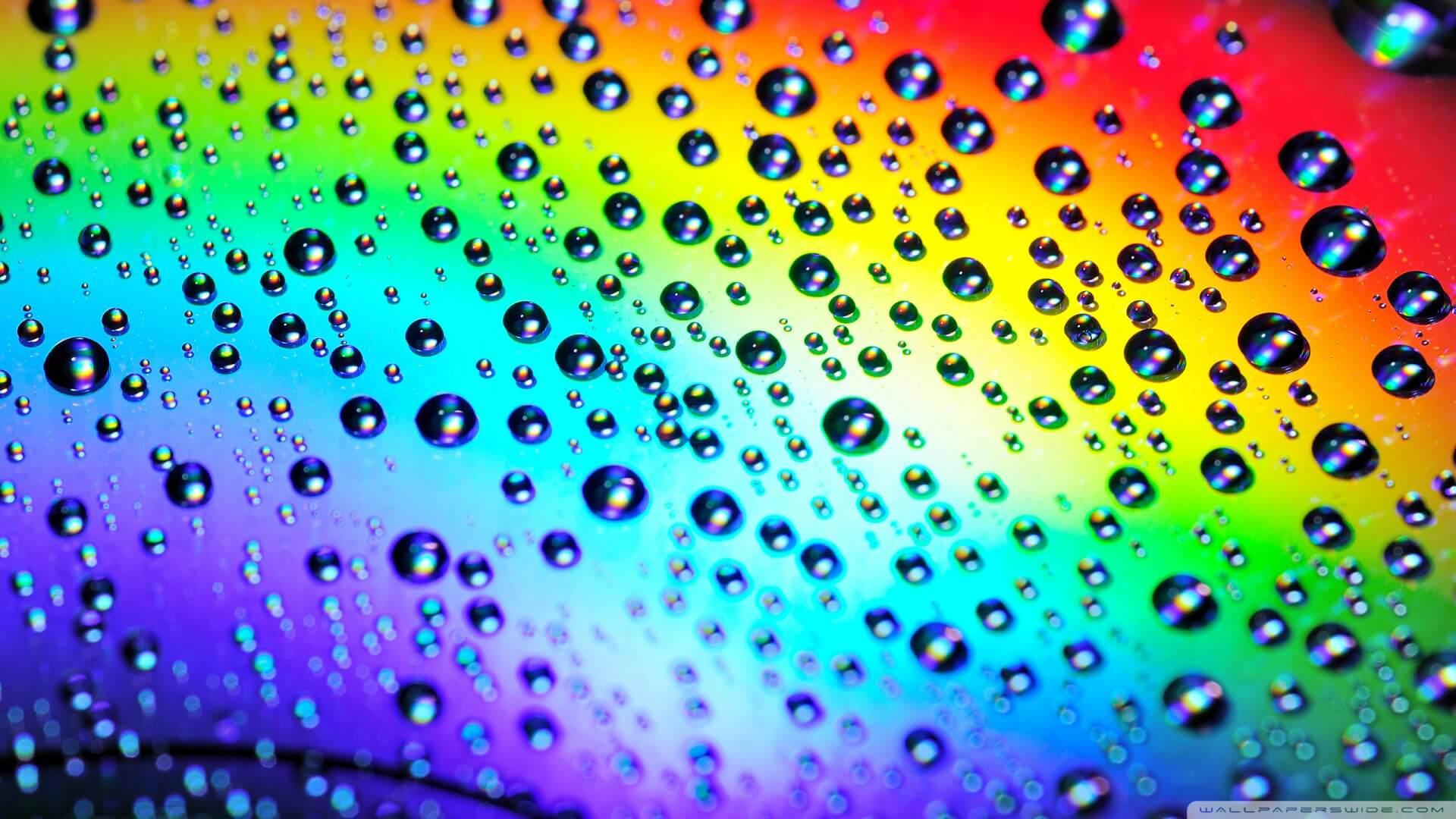 גשם צבעוני