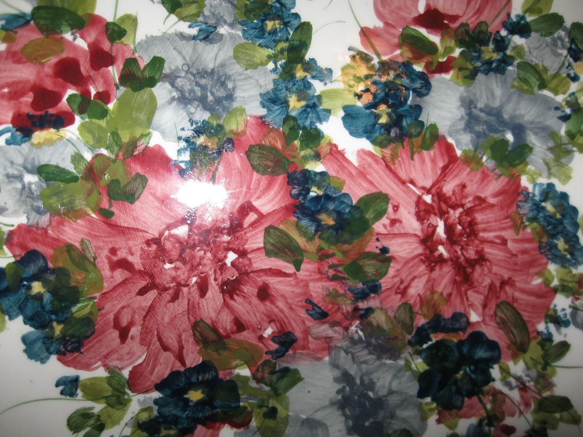 ציור של פרחים