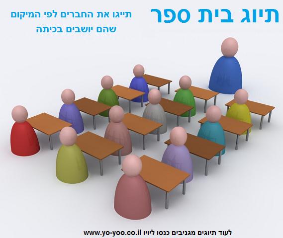 תיוג ישיבה בכיתה