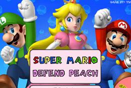 סופר מריו צריך להגן על הנסיכה , תירו בפולשים , ותעברו שלבים תשדרגו נשקים ועוד