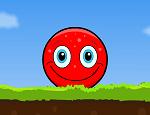 משחק עם כדור אדום מחייך  , עזרו לכדור להגיע לסוף השלבים כאשר תתחמקו ממכשולים