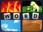 4 תמונות מילה אחת- משחק חדש