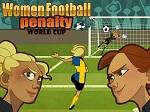 משחק כדורגל נשים מגניב לבנות  , בעטו לשער כאשר המטרה היא לבחור צד (ימין , שמאל או מרכז ) ולפגוע בדיוק שהכדור על הירוק באמצע של הבר . גם בהדיפת כדור המטרה היא לפגוע בירוק באמצע ולבחור לאיזה צד לקפוץ