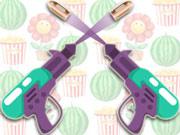 2 אקדחים