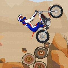 אופנוע בהרים